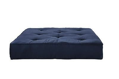 Coil Premium Futon Mattress Full Independently Encased Cobalt Bed Seat 8 Inch