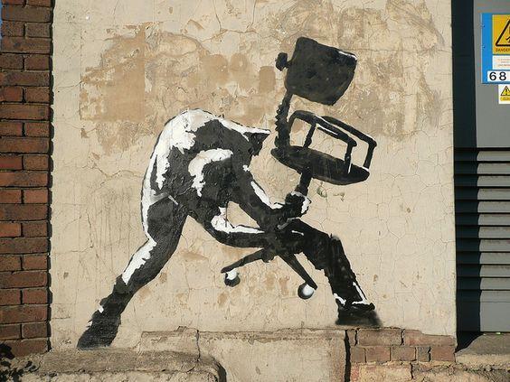 #TheClash #Banksy #streetart