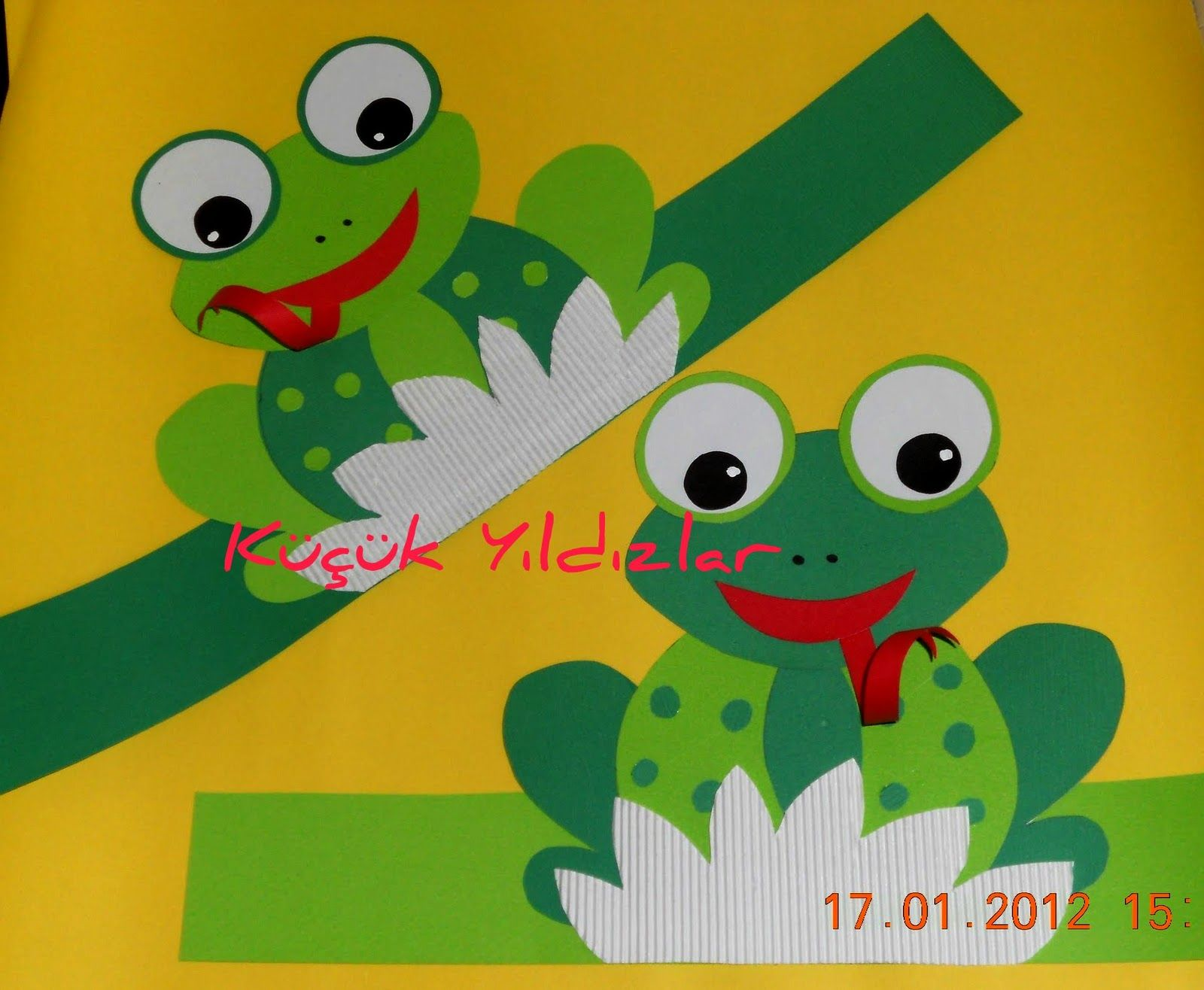 Frog headband craft ideas | preschool crafts and worksheets | Frog ...