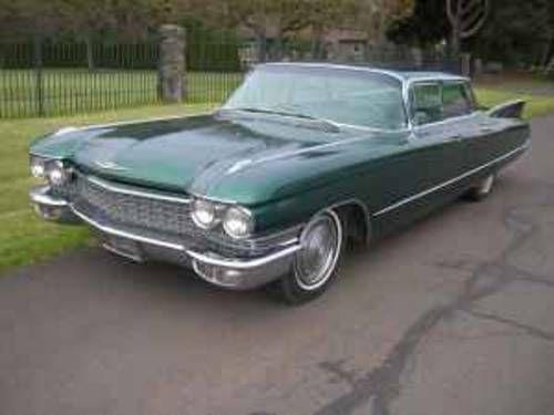 1960 Cadillac Flattop Sedan 4 Window Sedan Go Green For Sale On