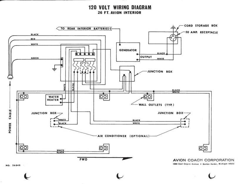 Avion 120 VAC Wiring Diagram Airstream Renovation C&er Remodeling Remodeled C&ers Vintage Trailers