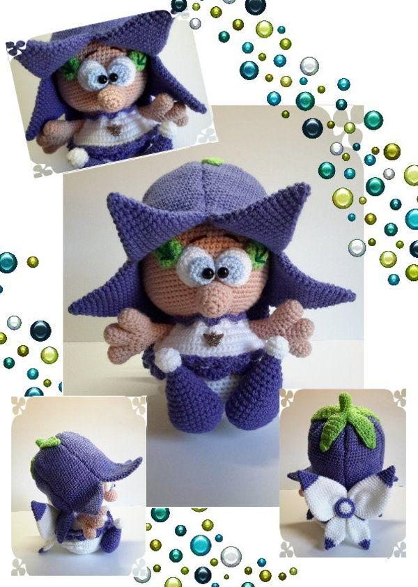 Die Kleine Elfe Mit Dem Glockenblumen Hut Möchte Unbedingt Dein