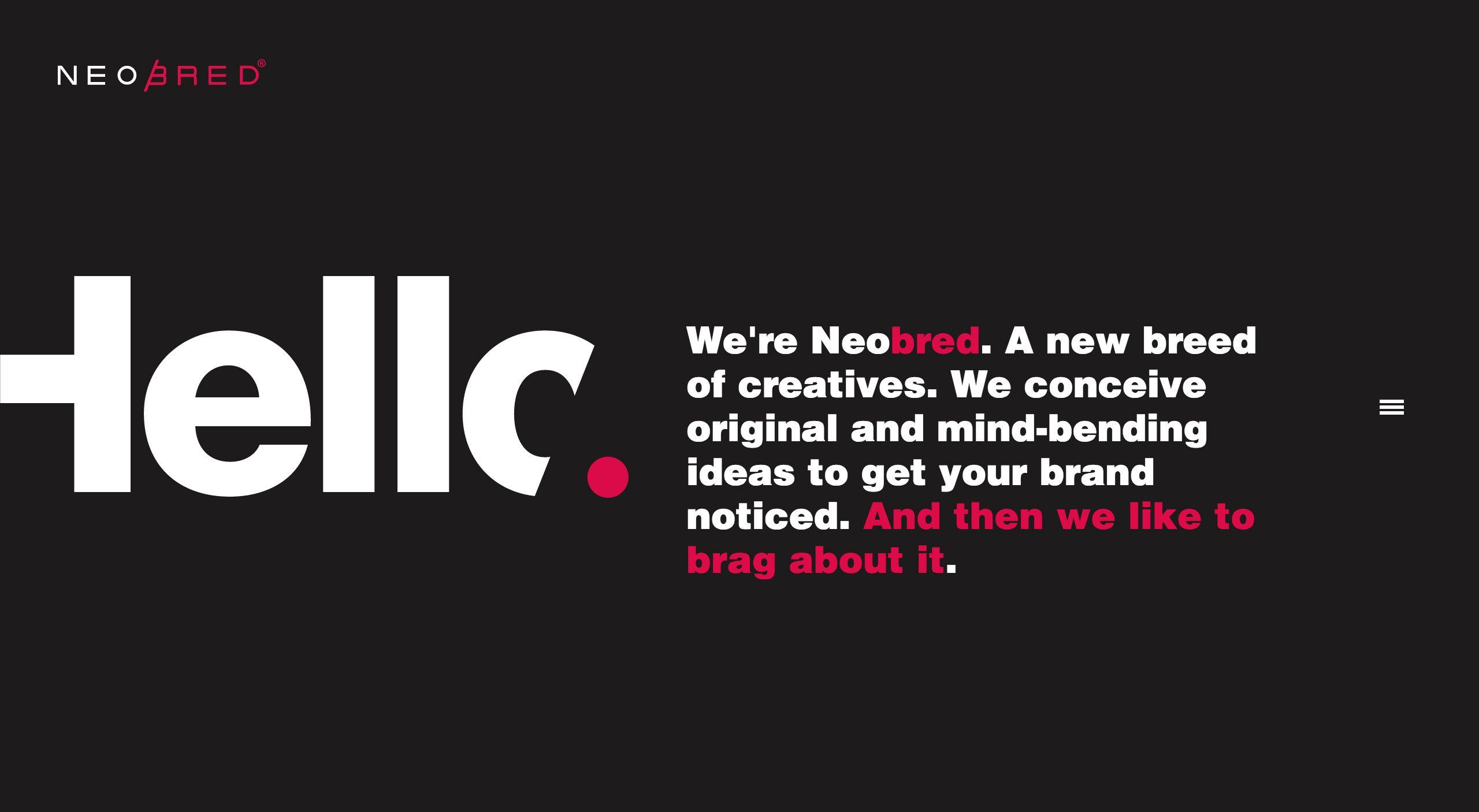 Cool Websites With Big Typography Web Design Web Design Typography Minimalist Layout