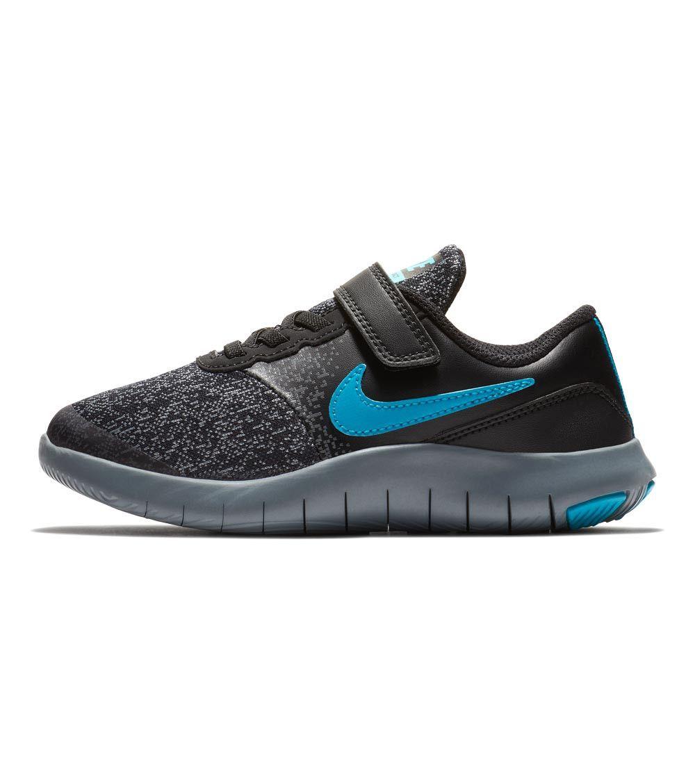 9e8e1b7068f70 Nike Flex Contact PS Kids Black Neo Turq Dark Grey