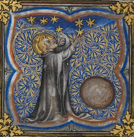 I give you stars -  A very youthful God http://www.bl.uk/manuscripts/Viewer.aspx?ref=royal_ms_17_e_vii_vol_1_f003v… @BLMedieval