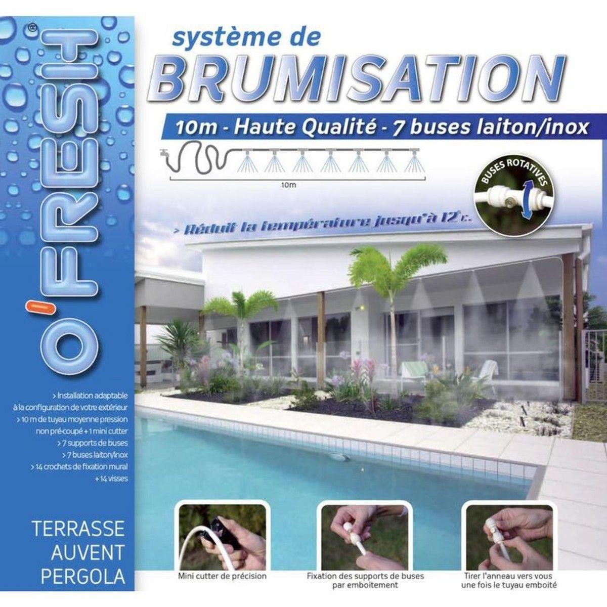 Système De Brumisation Haute Qualité 10m Products