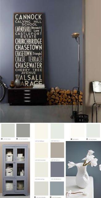 Kleurinspiratie: Scandinavisch: grijs, blauw en witten | villa d ...