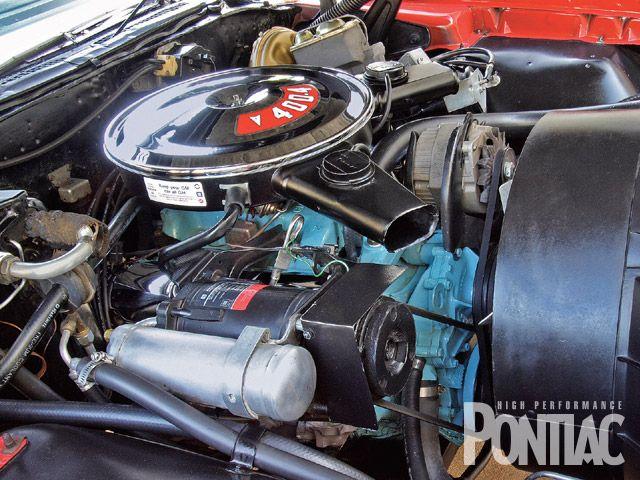 1972 Pontiac Grand Prix YS code 250-hp 4 barrel 400 V8 engine  | The