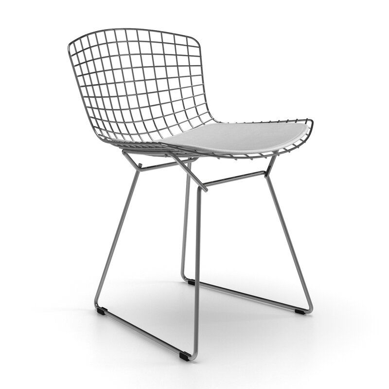 Iman Upholstered Dining Chair Leather Side Chair Upholstered Dining Chairs Dining Chairs
