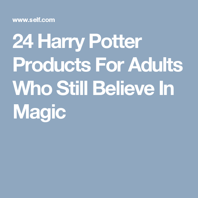24 Harry Potter Products For Adults Who Still Believe In Magic