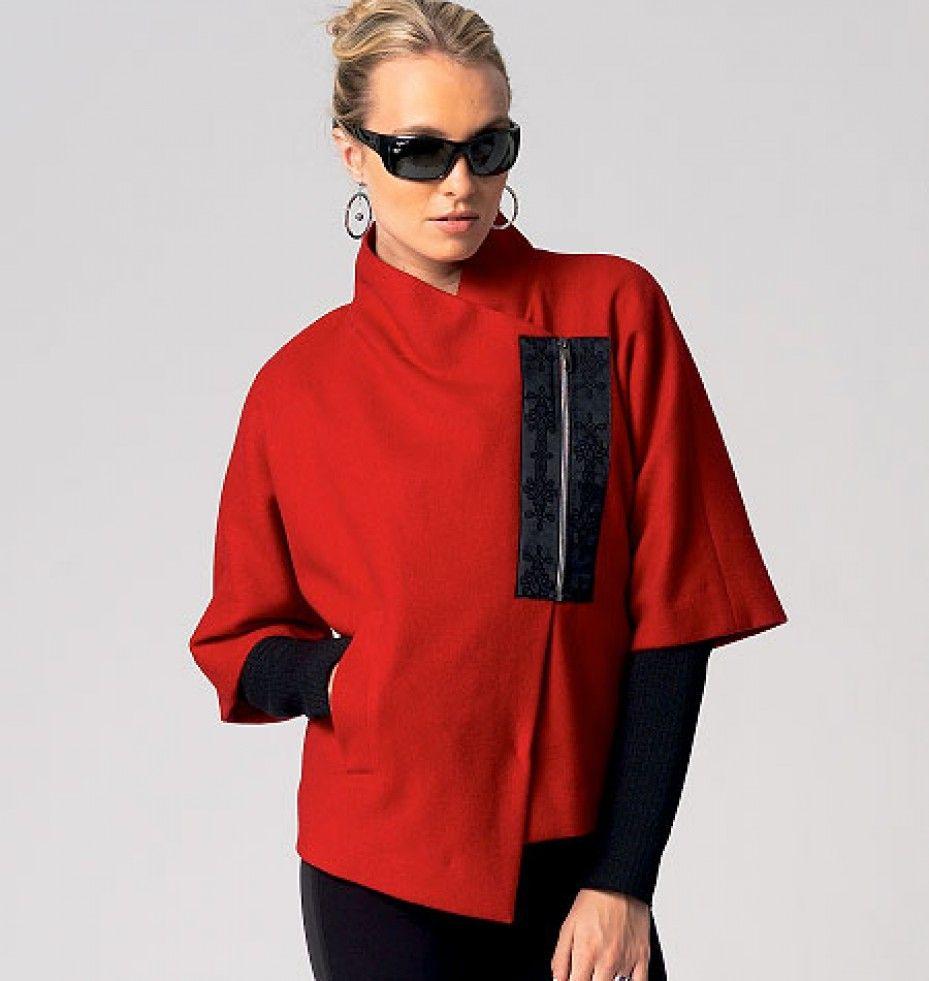 Vogue Katherine Tilton Designer Sewing Pattern 8863 | Minerva Crafts ...