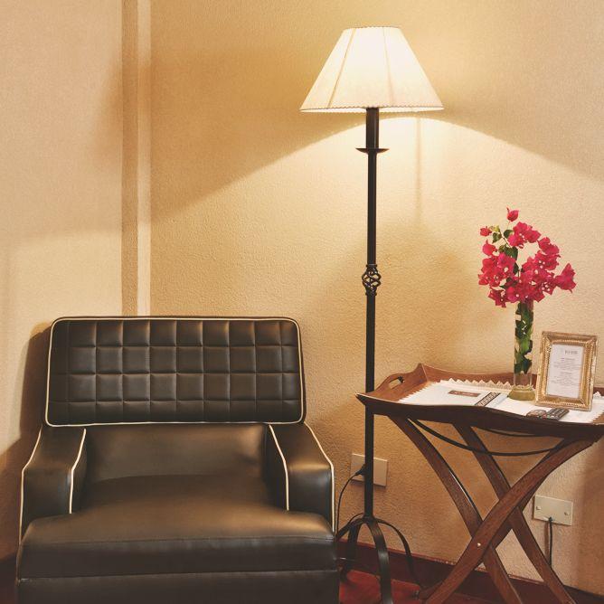 Rincón de una habitación en Villa Vicuña Cafayate