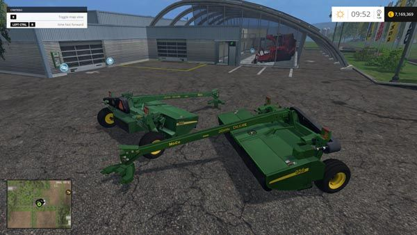 John Deere 956 MoCo mower | Farming Simulator 2015 Mods | Farming