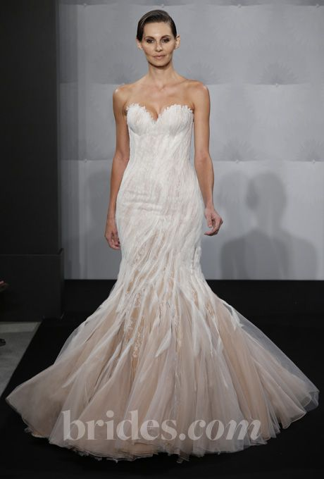 Christos - Spring 2014 - Mariah Strapless A-Line Wedding Dress ...