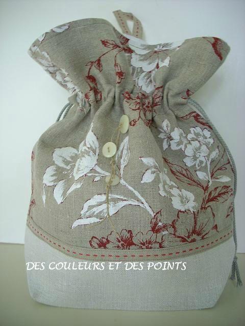pochon lin 2 FACE | Craft Ideas | Pinterest | Geschenkartikel ...