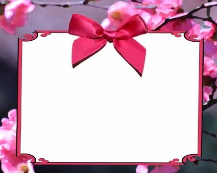pink cherry blossom invitation projects to try pinterest cherry blossoms cherries and. Black Bedroom Furniture Sets. Home Design Ideas
