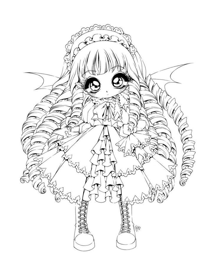 anime vampire coloring pages printable coloring pages and sheets - Anime Vampire Girl Coloring Pages