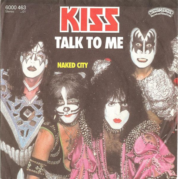 Kiss - Talk To Me at Discogs