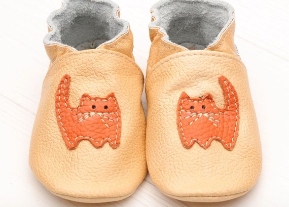 50e184a8d495c Baby Shoes Leather, Soft Sole Baby Shoes, Baby Moccasins, Infant ...