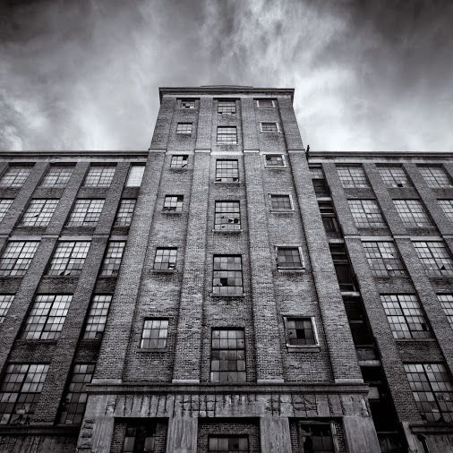 A shot of Washington Mill in Lawrence, MA. by Bob Lussier, a great local photographer
