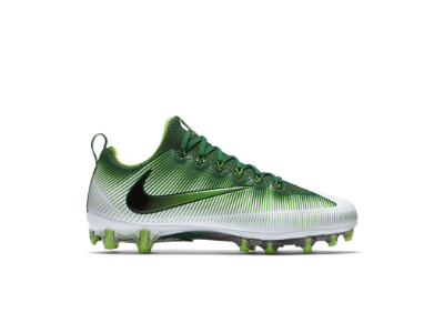 Nike Vapor Untouchable Pro Men's Football Cleat, Pine Green/White/Electric  Green/
