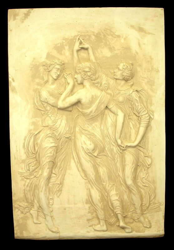 Three Graces Wall Relief Dancing Muse Wall Plaque [18101] - $125.99 ...