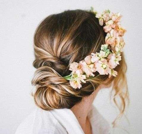recogidos de novia modernos fotos de peinados peinado de novia recogido con