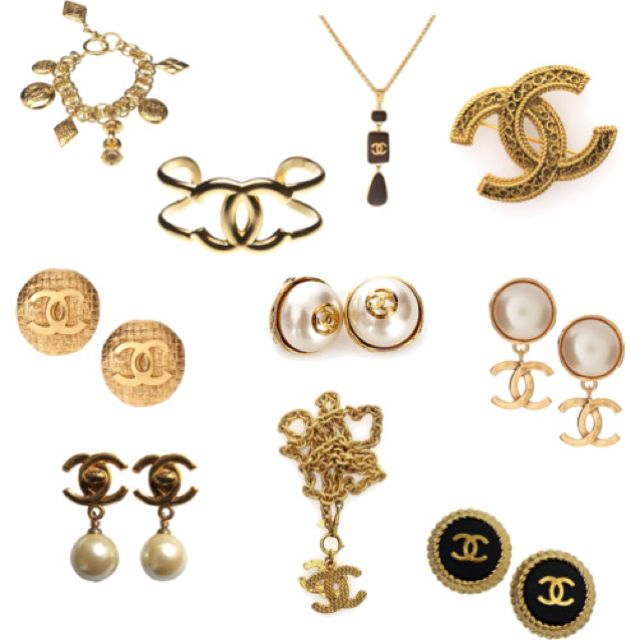 Vintage Chanel Jewelry Jewelry Pinterest Chanel jewelry