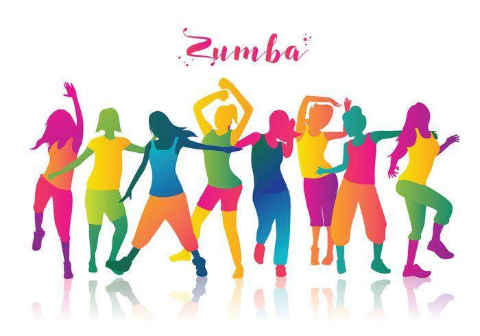 Free Zumba Dancers Vector Zumba Workout Zumba Party Zumba