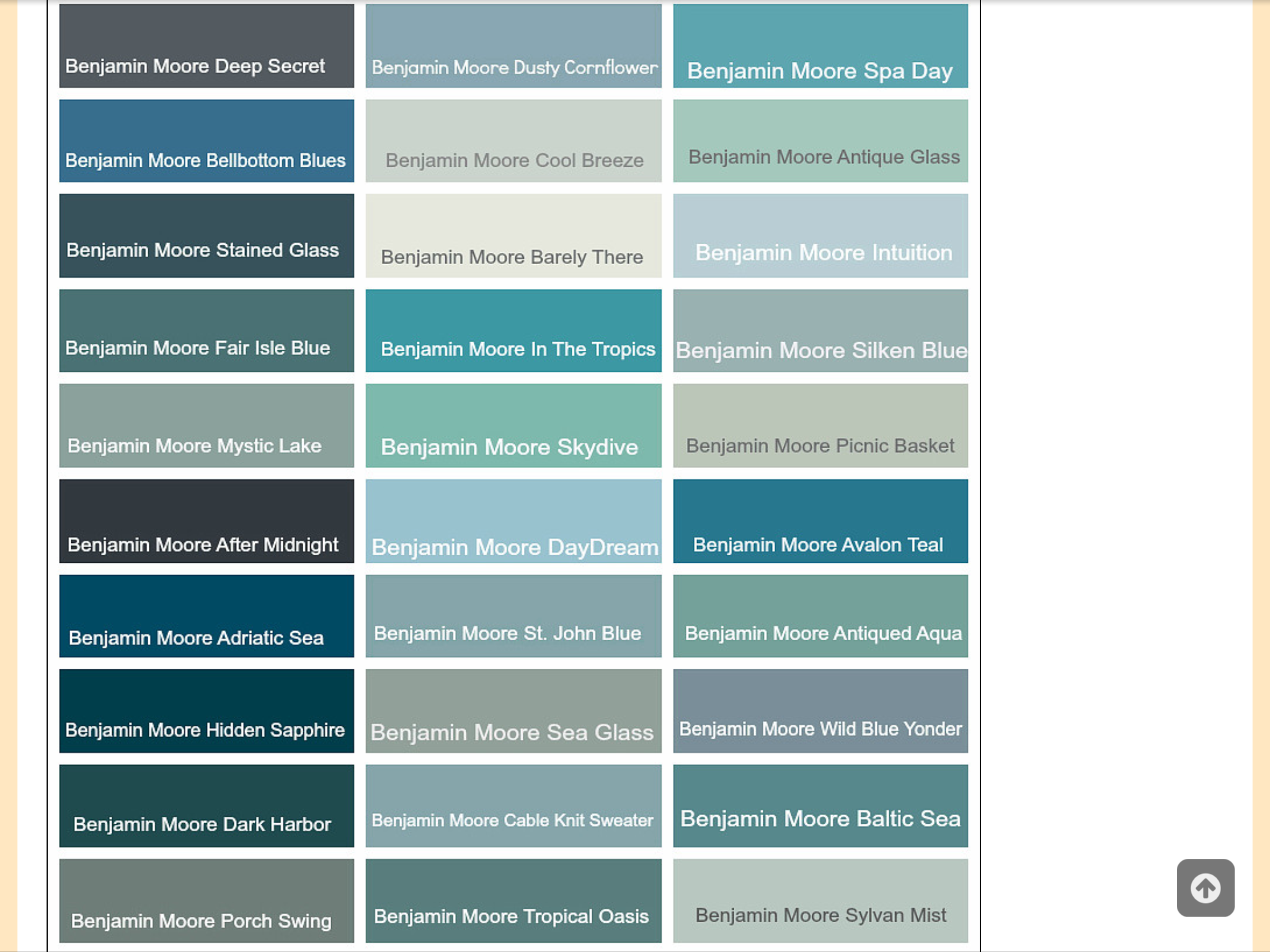 Pin By Sadaf On Paint Colors Popular Paint Colors Coastal Paint Colors Coastal Paint