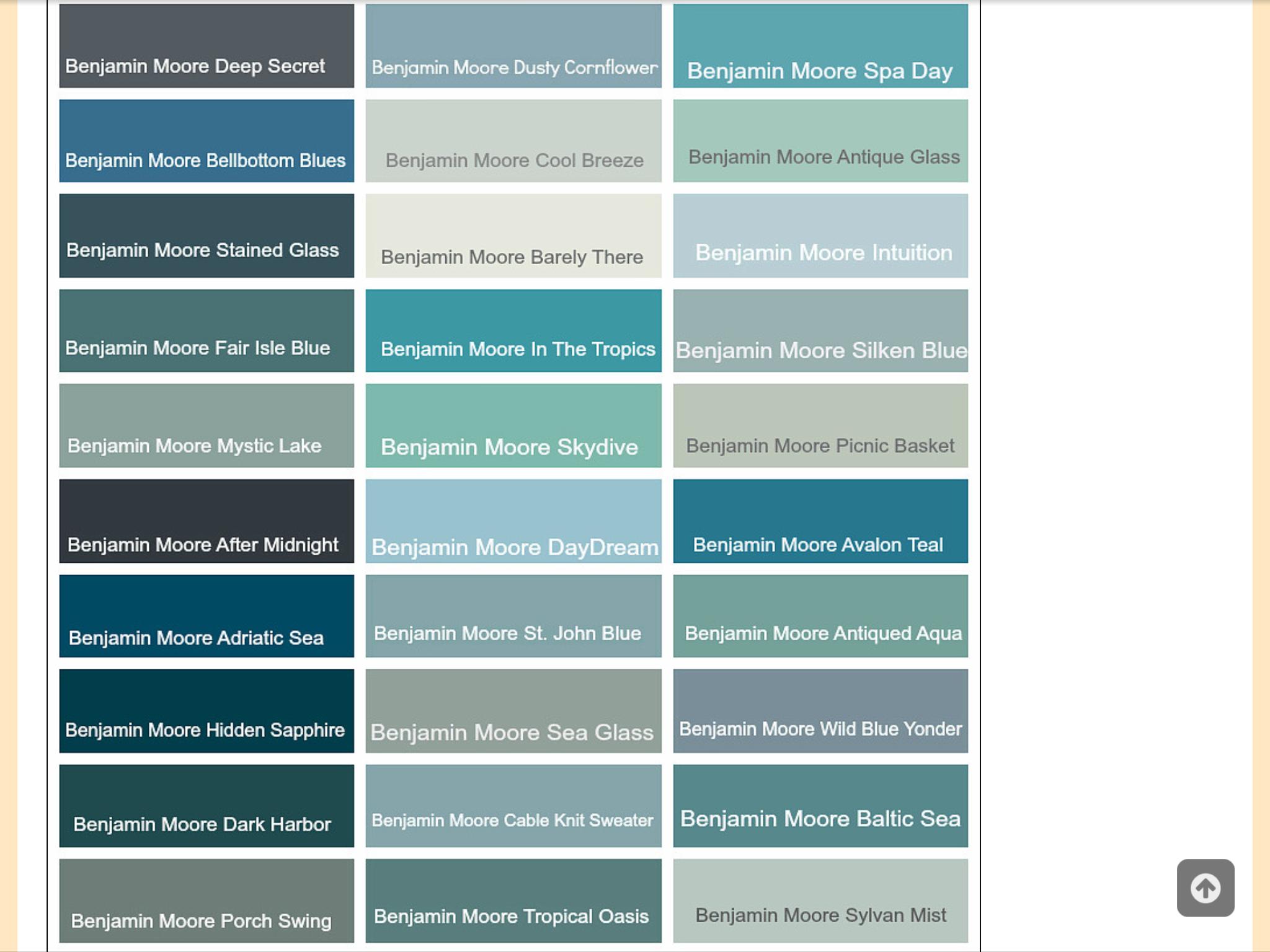 Calming blue paint colors | Paint Colors for the Home | Pinterest ...
