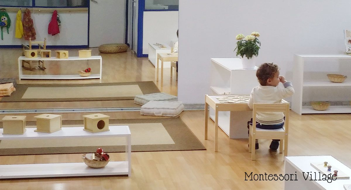 Mobili nido ~ Montessori infant nido environment educating our youngest