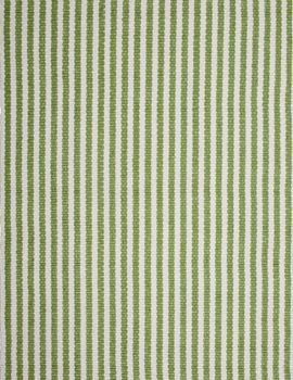 #HookandLoom Chester Eco Cotton Rug - Green/White