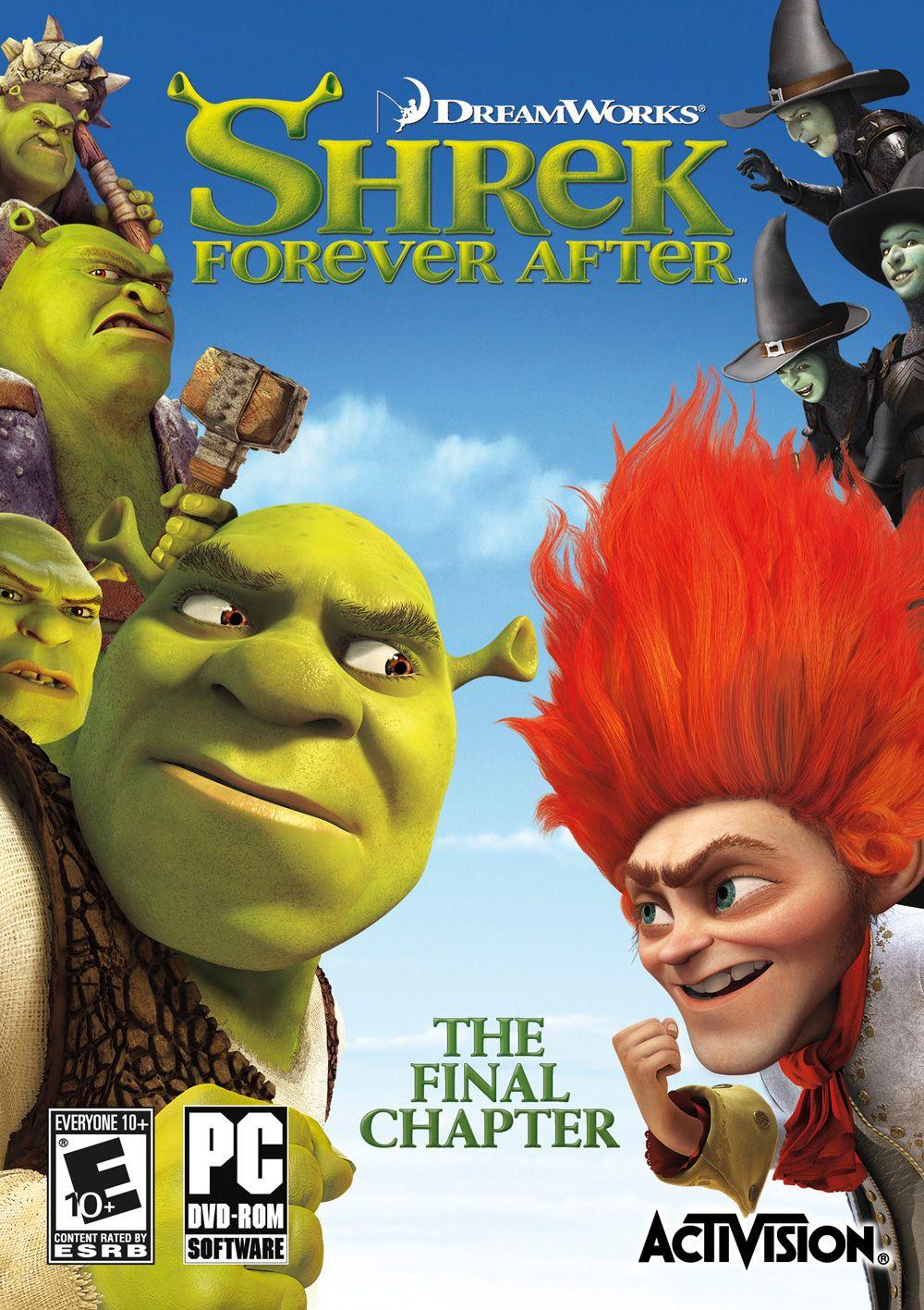Shrek 4 Cerca con Google Shrek, Activision, Animated