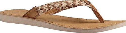 4d6b022c6aed2 UGG Women s Shoes in Chestnut Leather Color. Your beloved beach sandal gets  a new look