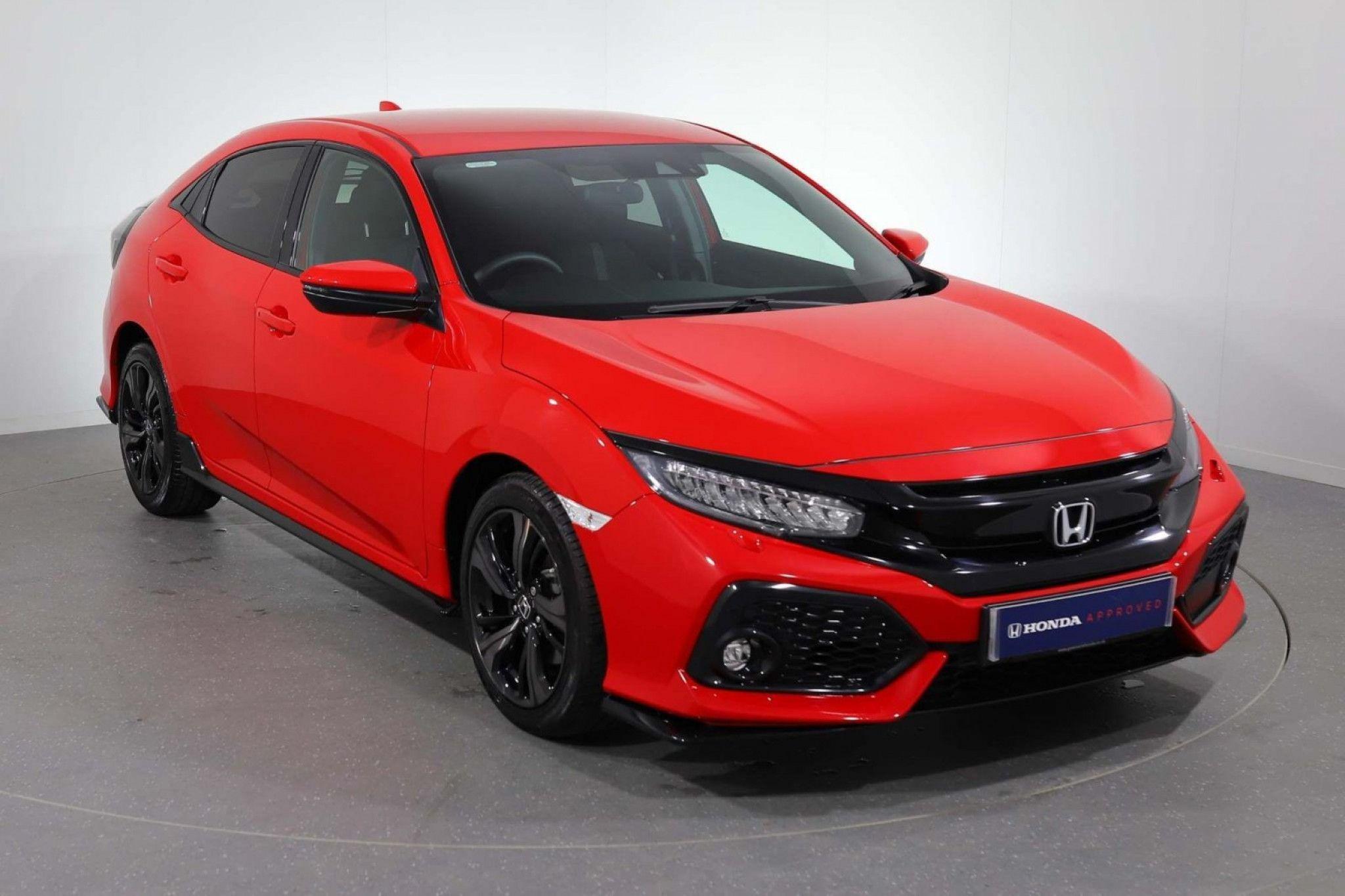 Honda Civic 1.5 Vtec Turbo Sport 5Dr in 2020 Honda civic