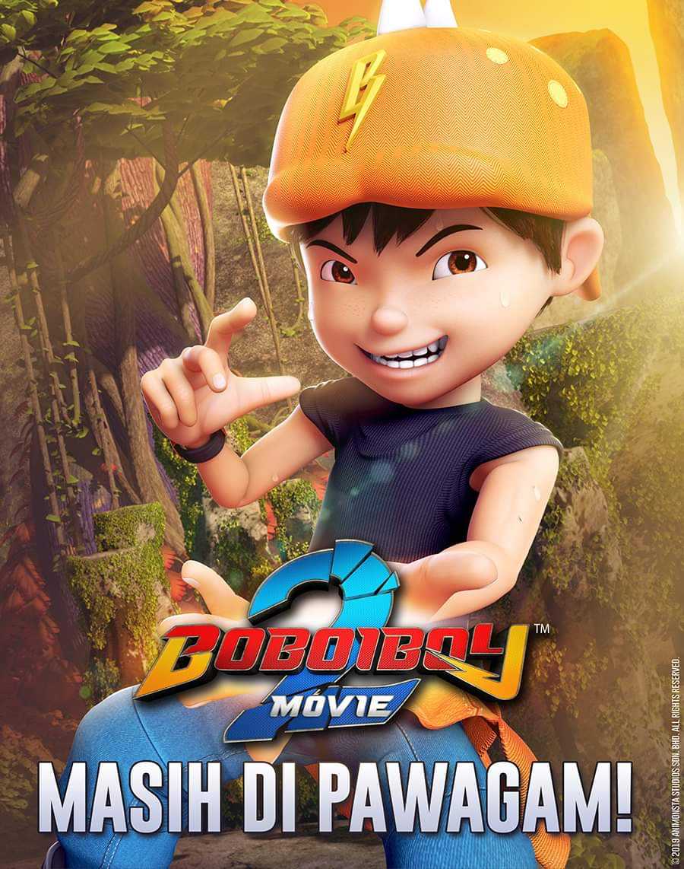 Boboiboy Movie 2 Bbbm2 Kartun Film Animasi Animasi
