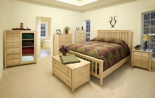 The Many Options Of Unfinished Furniture Wood Bedroom Furniture