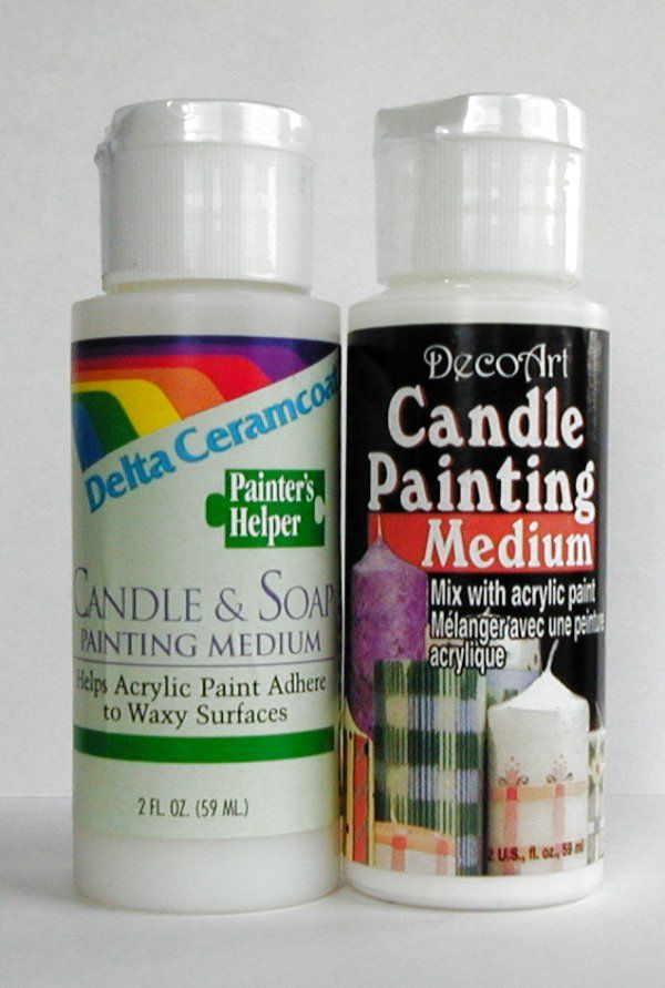 Candle N Soap Painting Medium Stencil Painting Painted Candles Candles