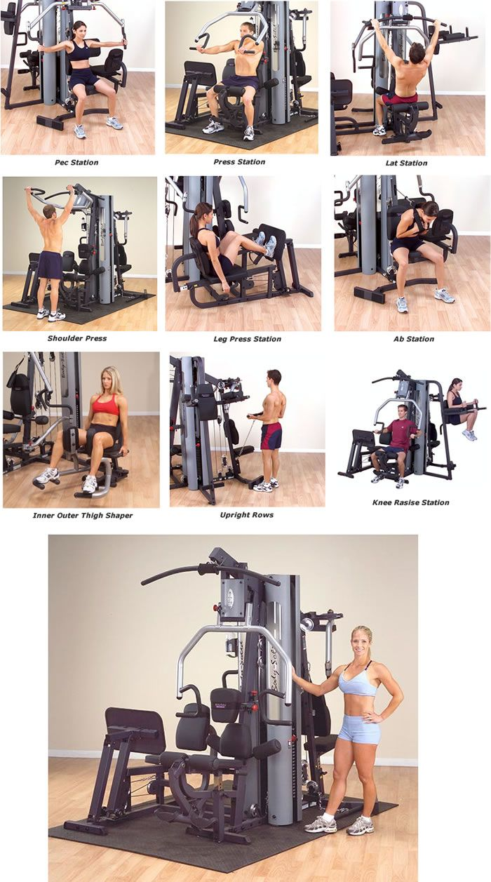 Body Solid G9S Home Gym Perfect addition to my dream