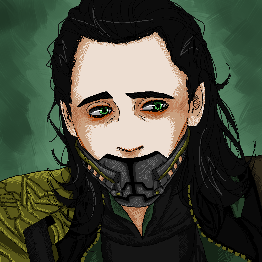 shut up loki by Taco-Zuzu on deviantART <<< this is pretty yet sad.