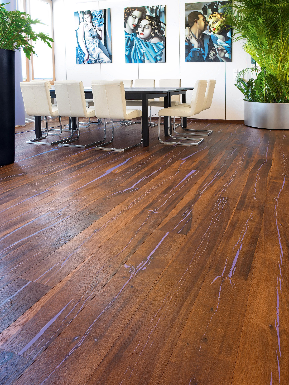 Mafi Tiger Oak Flooring Cc Brushed Natural Oil Plancher Mafi De