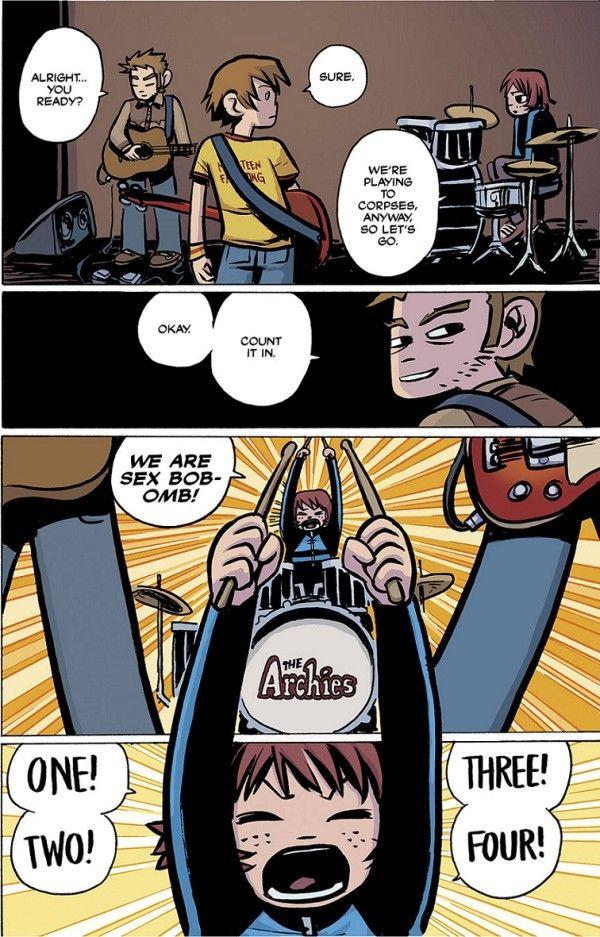 Scott Pilgrim manga is being released in full-color hard back ...