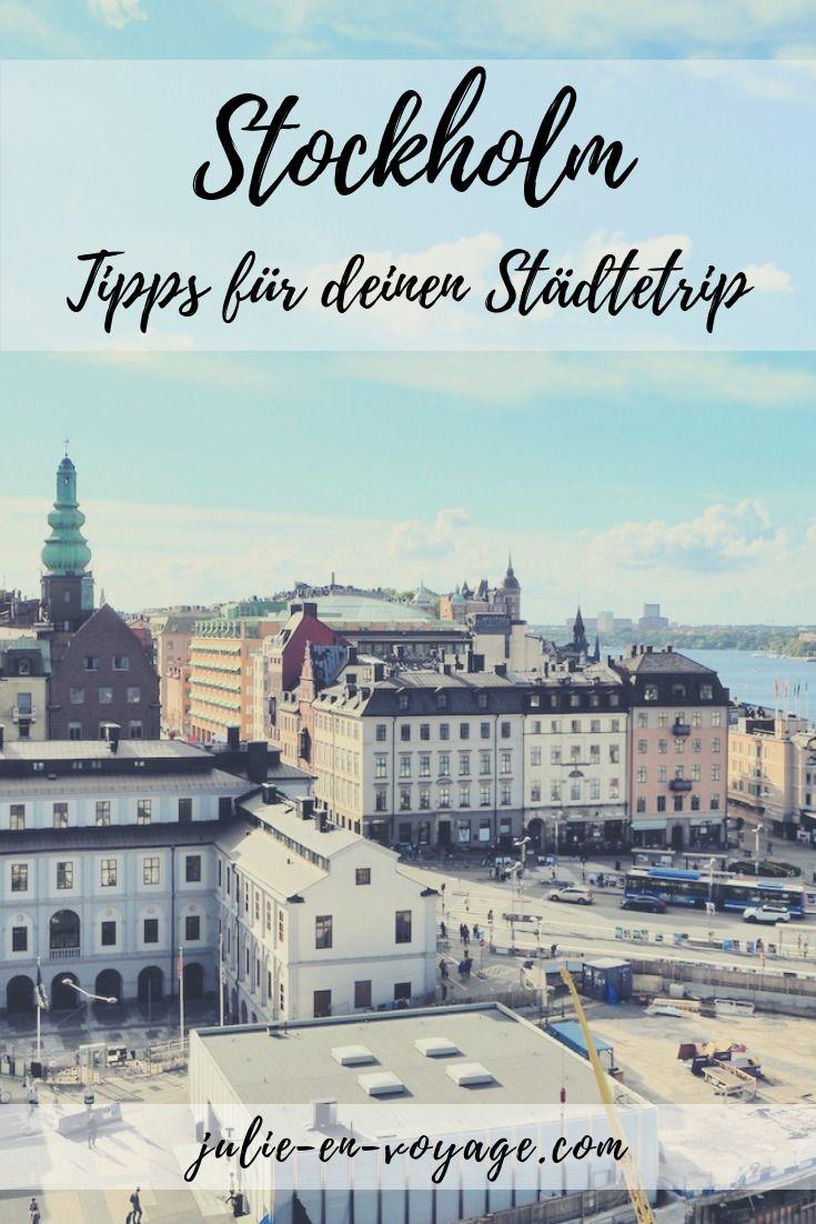 Stockholm: Tipps für einen Kurztrip in die schwedische Hauptstadt Mit diesem kompakten Travelguide bist du perfekt für einen Stockholm-Städtetrip gerüstet – und das in nur wenigen Minuten. 🙂 Neben Restauranttipps (für VegetarierInnen) verrate ich dir meine persönlichen Highlights, wo es die besten Kanelbullar gibt, wo du die beste Aussicht auf die Stadt genießen kannst und vieles mehr. #reiseführer #cityguide #travelguide #schweden #stockholm #europa #kurztrip