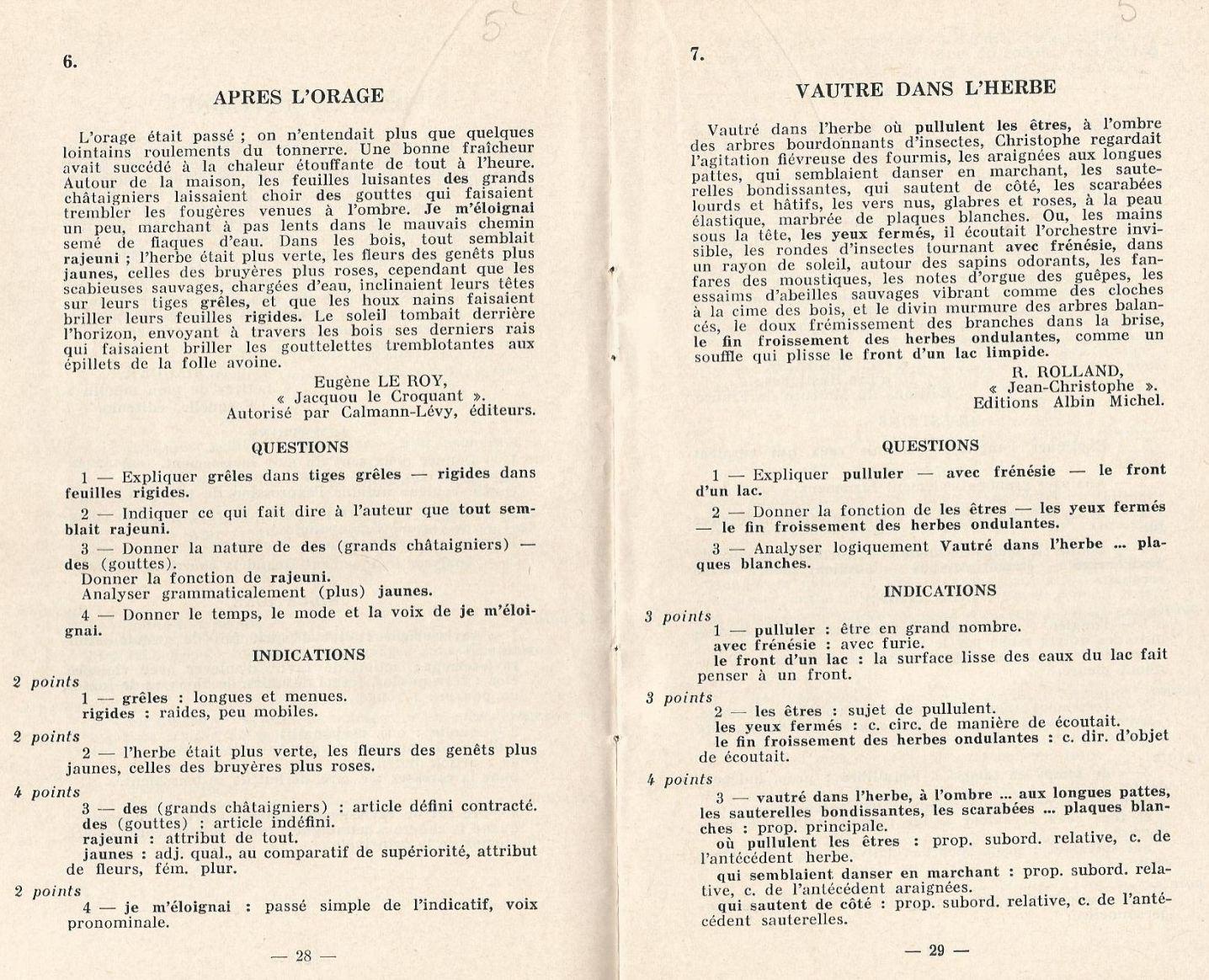Jean Maitron, 60 dictées suivies de questions | la lecture