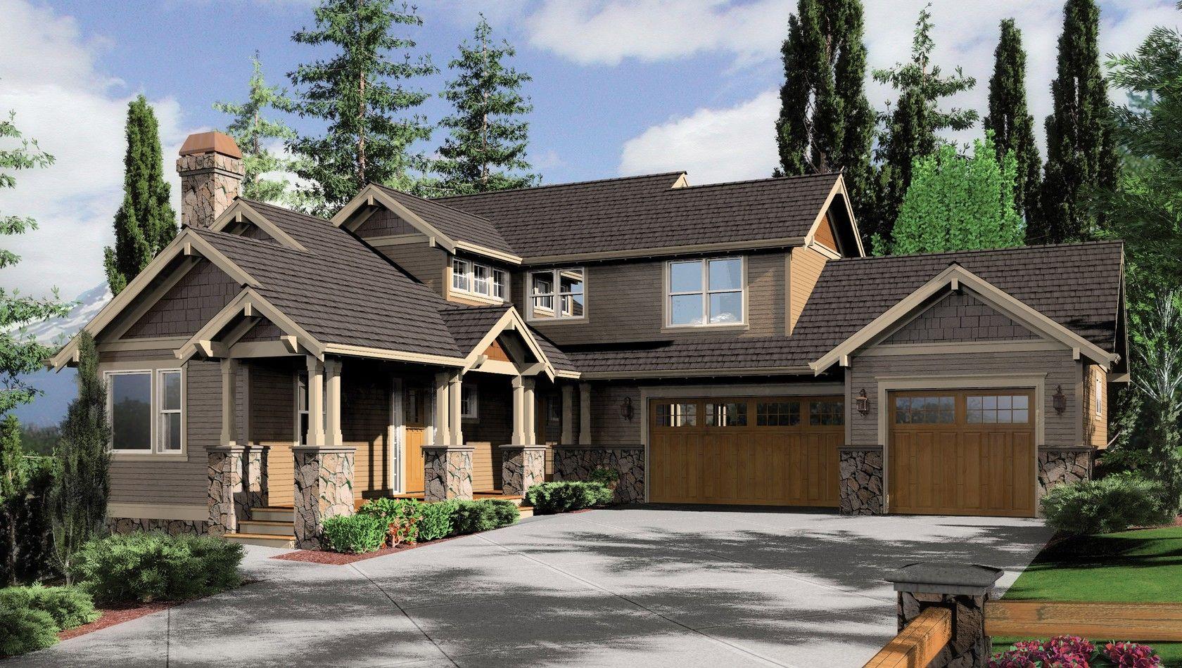 Inspirational Craftsman House Plans Daylight Basement