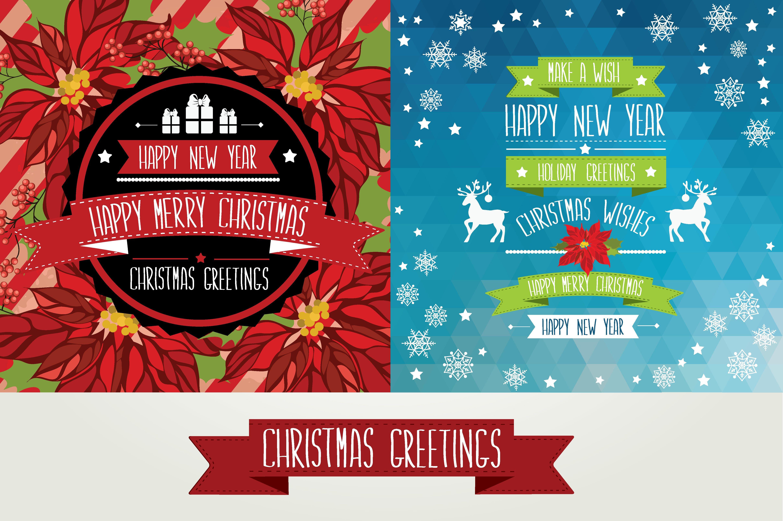 Christmas Design Inspiration 2 christmas posters - patterns - 1   xmas inspirado   pinterest