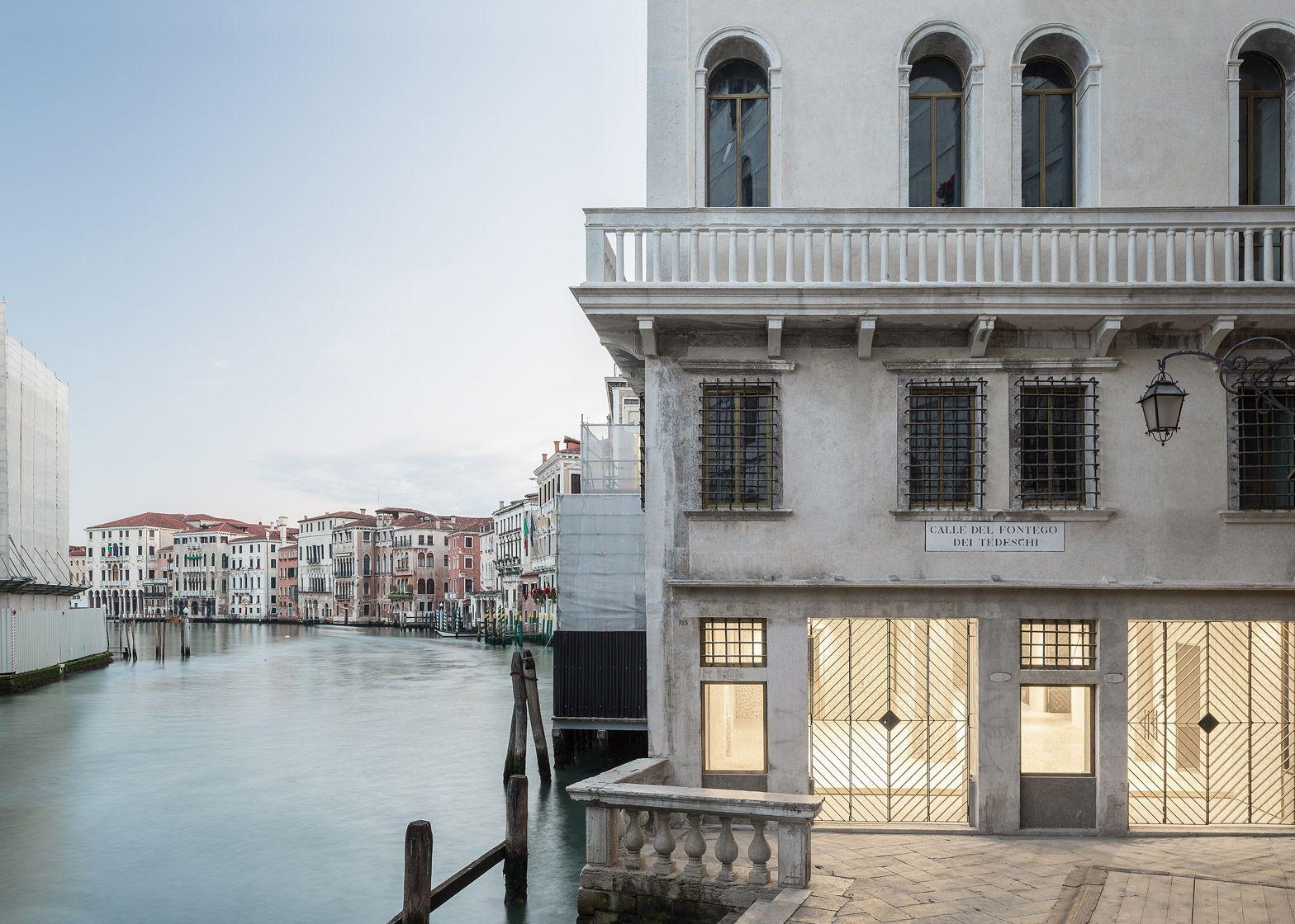 OMA completes restoration of Venice's Fondaco dei Tedeschi