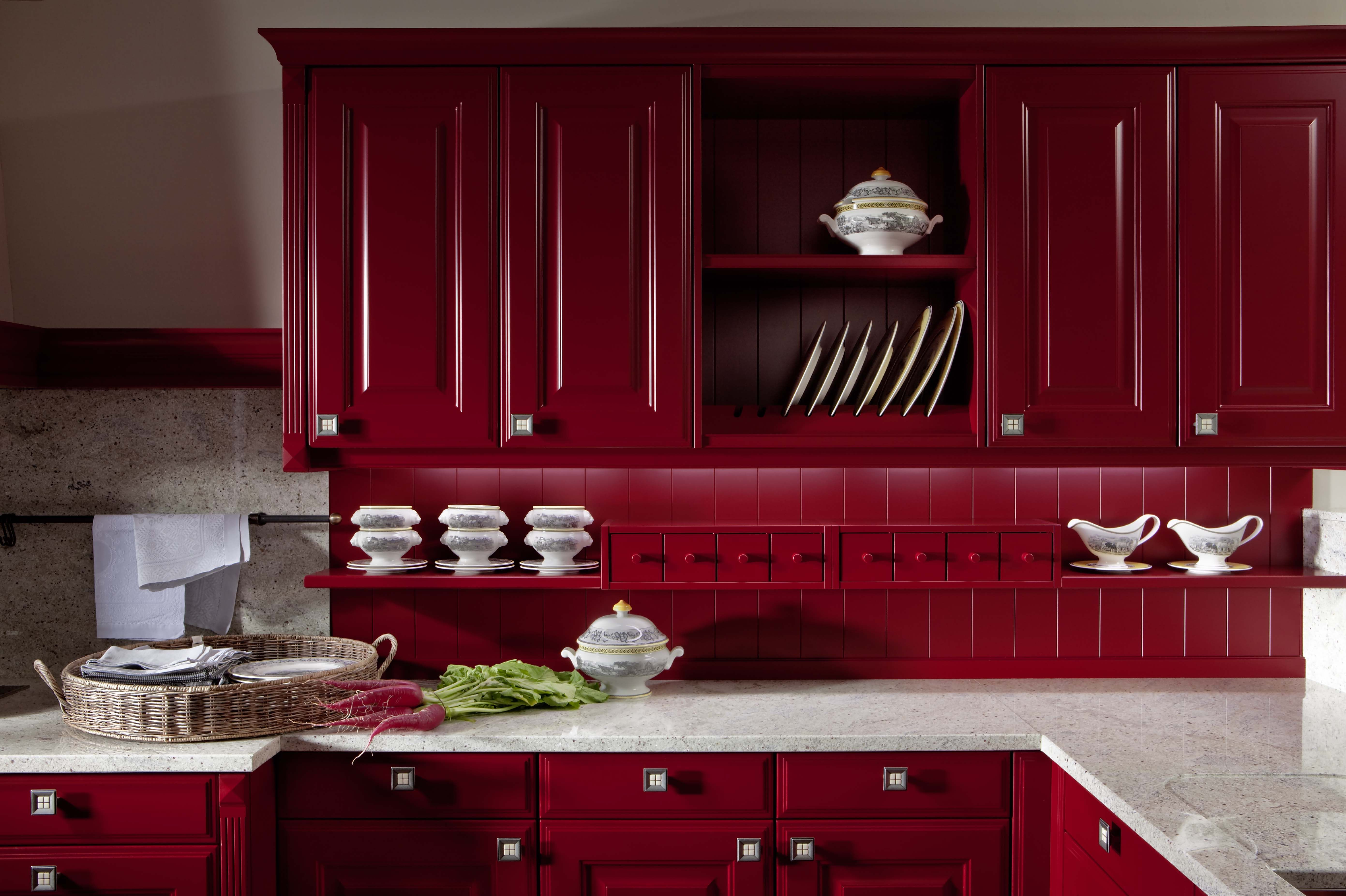 Allow Vibrant Colours To Spice Up Your Kitchen Life Grundig Kitchen Trends Inspiration Kitchen Design Trends Kitchen Cabinet Remodel Red Kitchen Cabinets