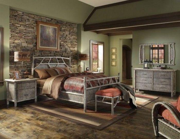 Beautiful 55+ Rustic Bedroom Furniture Inspirations_2 Images